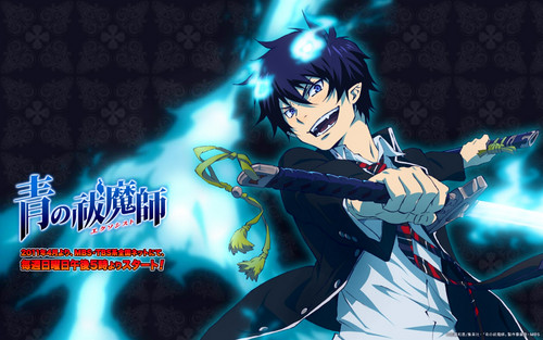 Ao no Exorcist fondo de pantalla possibly containing a concierto and anime called Rin Okumura