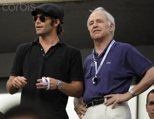 Robert & Chris Pine
