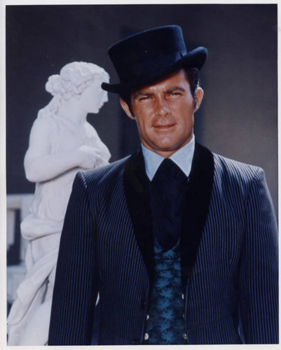 Wild Wild West wallpaper with a business suit titled Robert Conrad as Jim West