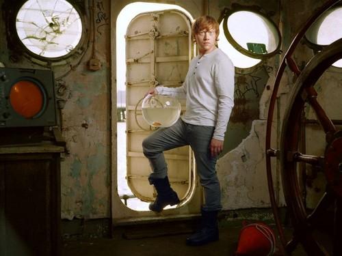 Rupert Grint kertas dinding