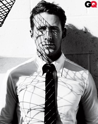 Ryan gosling کے, بطخا GQ magazine 2011 outtakes