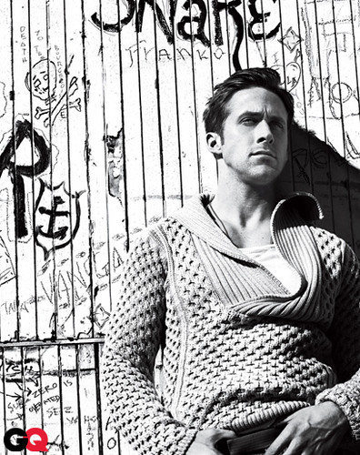 Ryan ngỗng con, gosling GQ magazine 2011 outtakes
