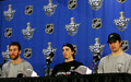 Malone, Fleury & Crosby - Eastern Conference Finals Press Conference- May 18, 2008 - ryan-malone photo