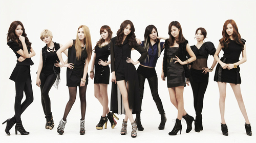 Girls Generation/SNSD wallpaper with tights titled SNSD - The Boys Comeback Pictures