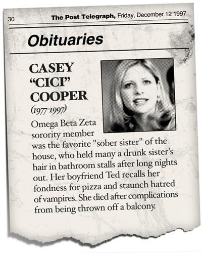 Sarah Michelle Gellar - Casey Cooper