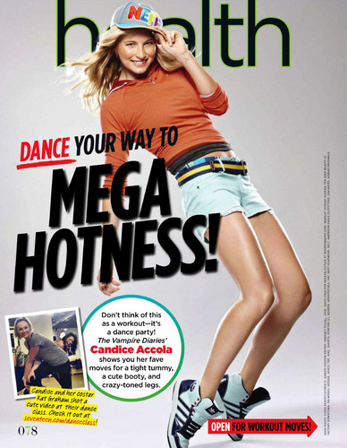 Scans from Seventeen Magazine (November 2011)