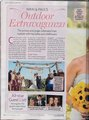 Scans from US Weekly featuring the first foto from Nikki and Paul McDonald's wedding.
