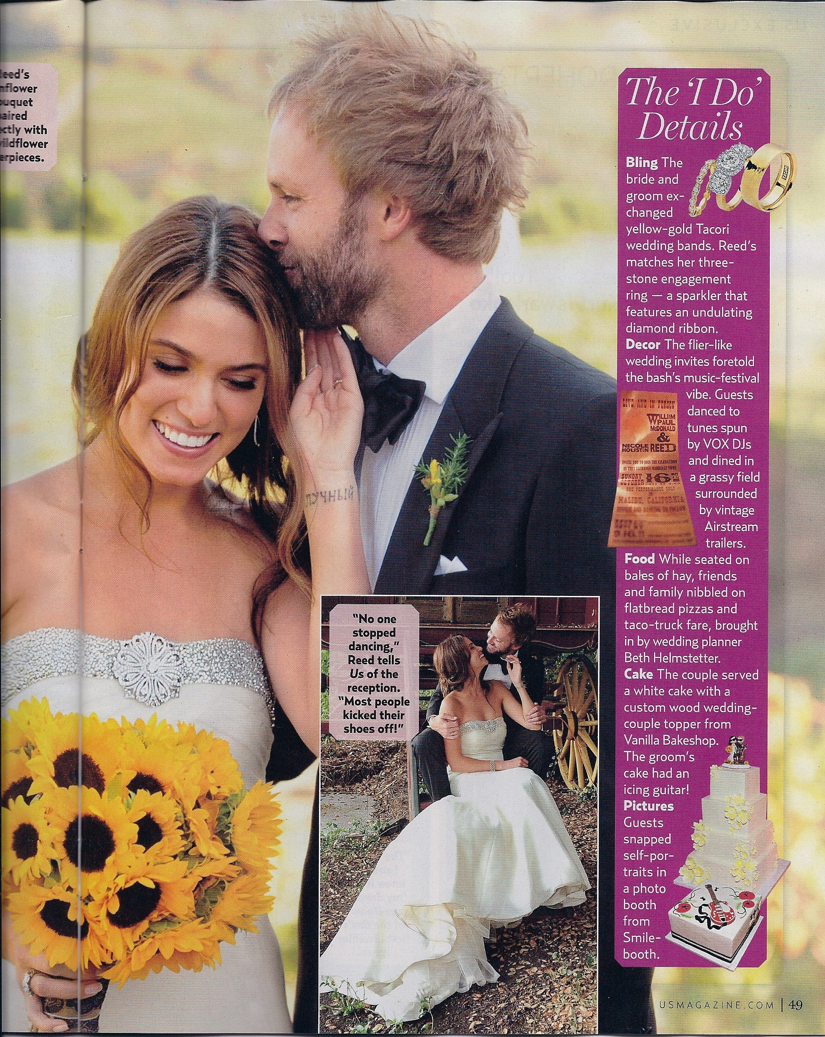 Scans From Us Weekly Featuring The First Photos From Nikki And