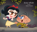 Snow White CHIBI - walt-disney-characters fan art