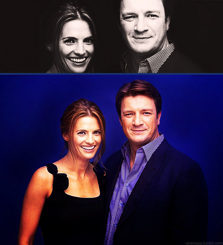 Stana and Nathan ♥