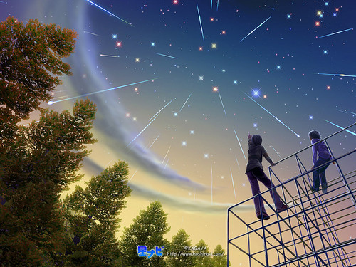 Daydreaming wallpaper titled Stars in the sky