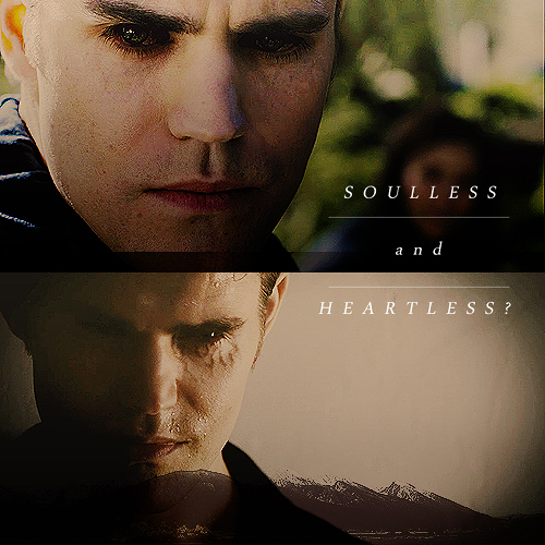 Stefan Salvatore achtergrond probably with a sign and a portrait titled Stefan Salvatore