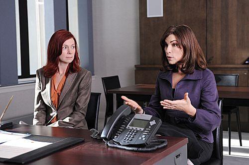 THE GOOD WIFE Season 3 Episode 7 'Executive Order' Promotional foto-foto