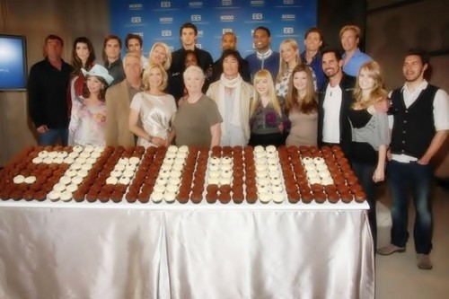 The Bold and the Beautiful Cast 6,000th Episode Celebration.