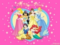 Walt Disney kertas-kertas dinding - The Disney Princesses
