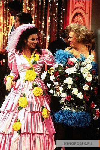 The Nanny wallpaper with a bouquet and a bridesmaid called The Nanny