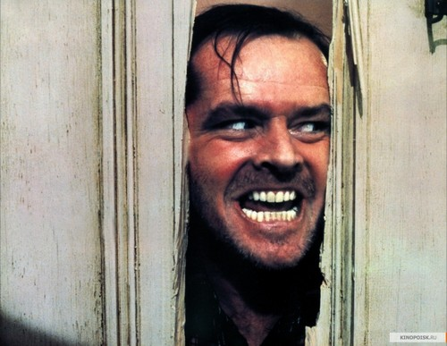Jack Nicholson fond d'écran titled The Shining