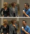 The Walking dead comic-con interview - lauren-cohan screencap