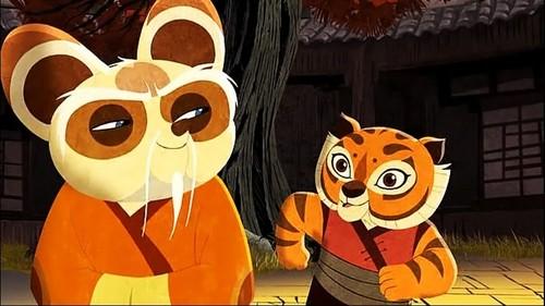あばずれ女, 虎, ティグレス and Master Shifu