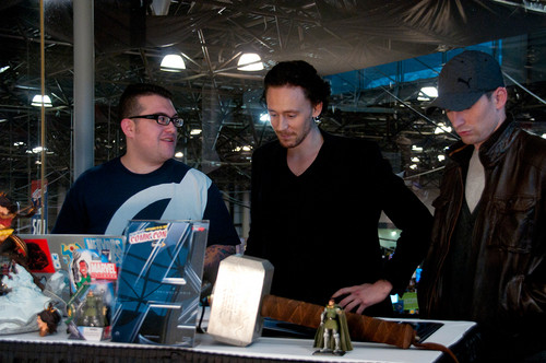 Tom Hiddleston @ New York Comic Con 2011