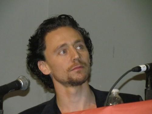 Tom Hiddleston @ The Avengers Panel, New York Comic Con 2011