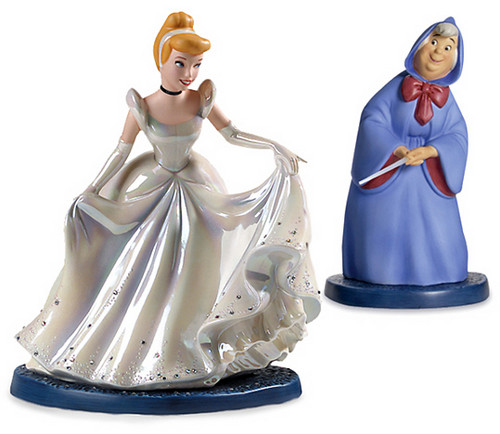 Walt 迪士尼 Figurines - 灰姑娘 & The Fairy Godmother