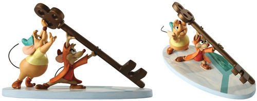 Walt disney Figurines - Gus & Jaq