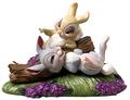 Walt ディズニー Figurines - Miss Bunny & Thumper