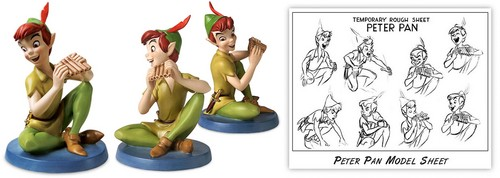 Walt Disney Figurines - Peter Pan