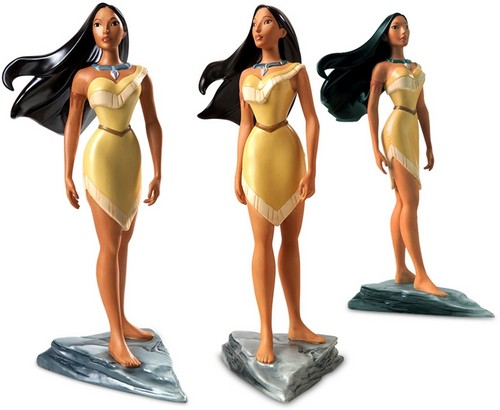 Walt डिज़्नी Figurines - Pocahontas