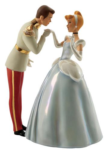 Walt Disney Figurines - Prince Charming & Cendrillon