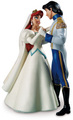 Walt 디즈니 Figurines - Princess Ariel & Prince Eric