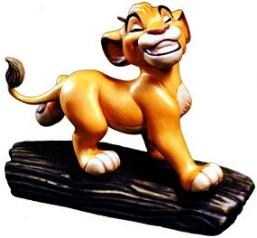 Walt disney Figurines - Simba