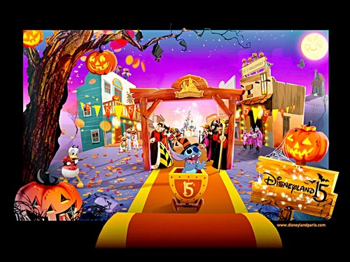 Walt Disney Wallpapers - Halloween @ DisneyLand, Paris