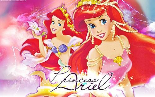 Walt Disney kertas-kertas dinding - Princess Ariel