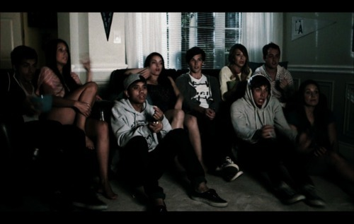 Allstar Weekend wallpaper probably with a business suit, a living room, and a sign entitled blame it on september screencaps
