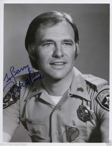 ebay signed pic of Robert Pine
