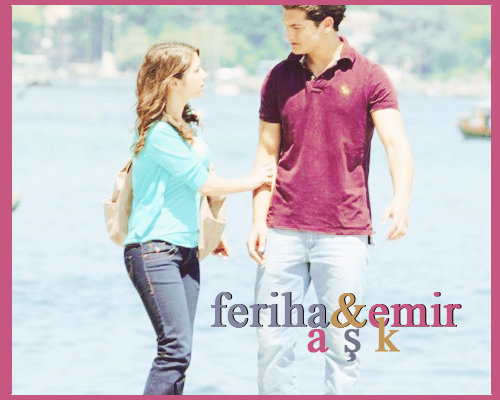 feriha and emir - turkish-couples Fan Art