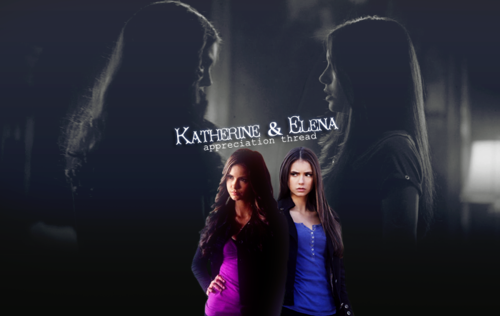 Katherine Pierce and Elena Gilbert wallpaper with a show, concerto called katheirne_elena