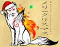 merry christmas from okami