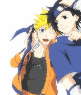 naruto and sasuke best friend 4 ever