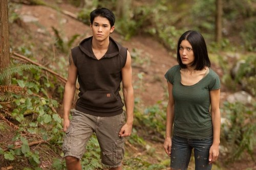 new Breaking Dawn still Leah and Seth