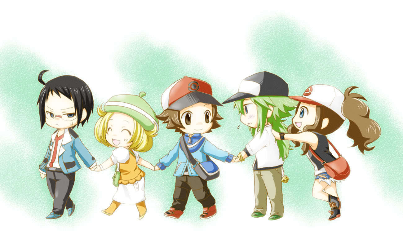Pokemon Black White Fanart