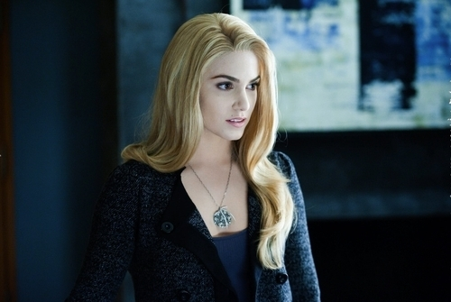 Rosalie Hale fond d'écran possibly with a cardigan, a pullover, and a portrait titled rosalie <3