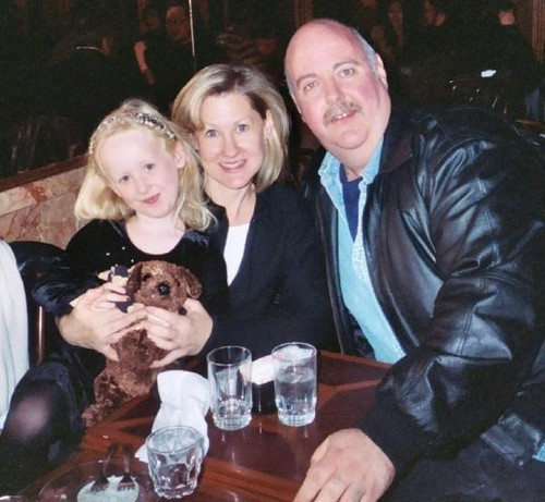 veronica taylor with family