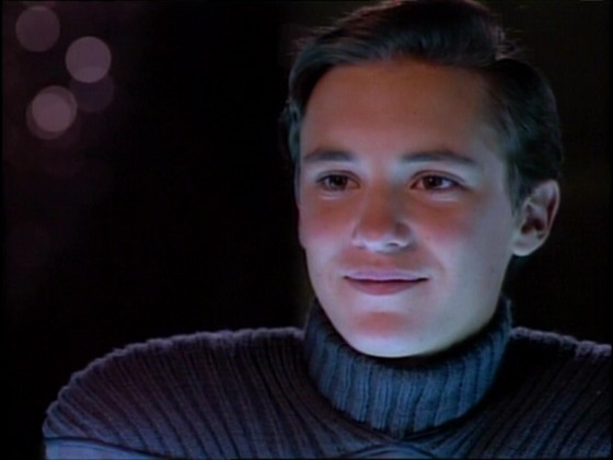 Wesley Crusher Being Smug