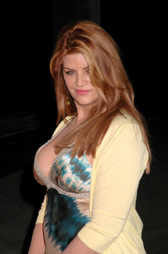 Kirstie Alley wallpaper containing a bustier and a cocktail dress entitled 'Fat Actress' premiere