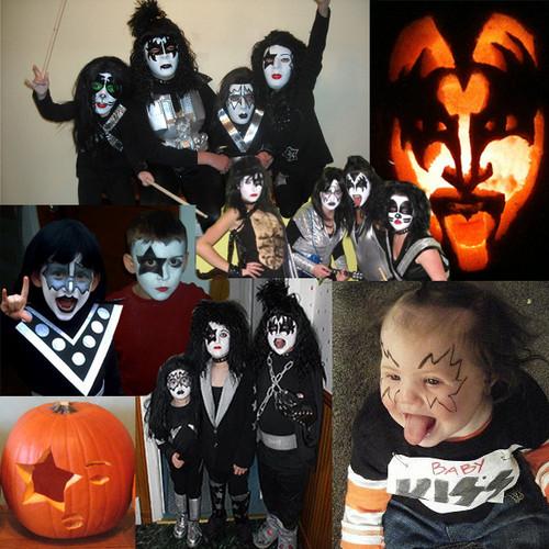 ☆ Kiss Хэллоуин dress up ☆
