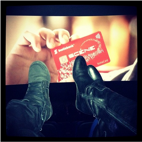 """""""Me and my besty watching a movie"""" :)"""
