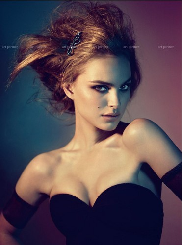 Natalie Portman wallpaper containing attractiveness called  Mert & Marcus for W Magazine (May 2005)